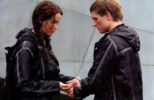 The Hunger Games_Katniss and Peter